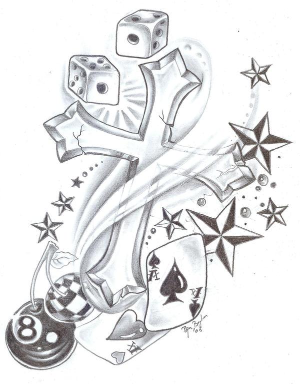 Tattoo Design New School