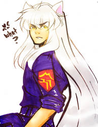 delinquent Inuyasha by MMHinman