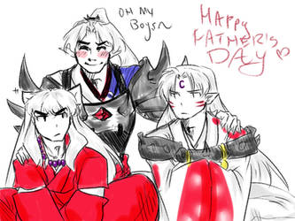 Happy Fathers Day- Inuyasha by MMHinman