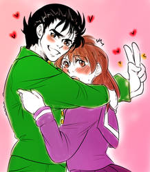 Yusuke x keiko sweetness by MMHinman