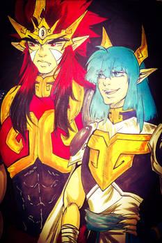 Demon God pals