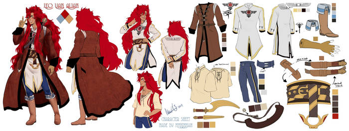 (updated/final) Leo Outfit Sheet