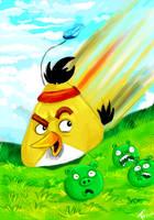 Chuck - yellow bird by Yohiri