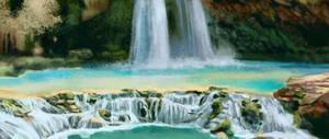 environment practice - azure waterfall