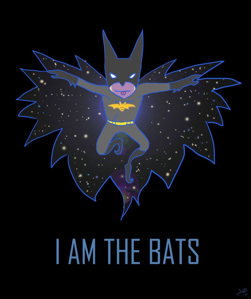 I Am The Bats by skullanddog