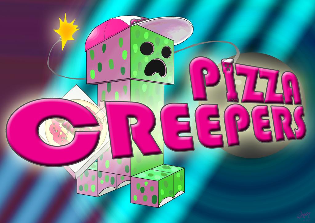 Pizza Creepers by skullanddog