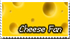 Cheese Fan stamp by Shewolffe