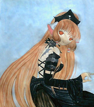 Old Chobits painting