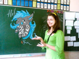 At school by NightyLightness