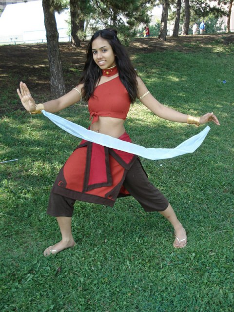 Fire Nation Katara cosplay by Koria-paws