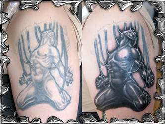 Marionette Cover - tattoo by mojotatboy
