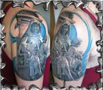 Hail Mary Jesus - tattoo