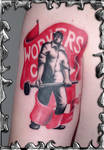 Workers United - tattoo
