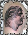 Alexandar the Great - tattoo
