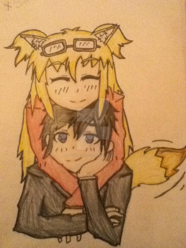 Saito And Amu Fan Art Anime Couple By Moonprincess731