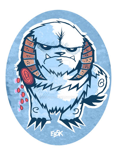 Disappointed Wampa by edbot5000
