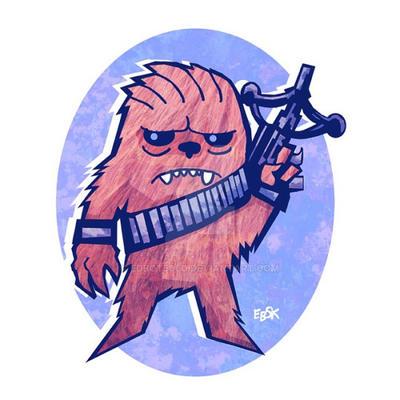 Chewie by edbot5000