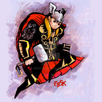 Thor commission by edbot5000