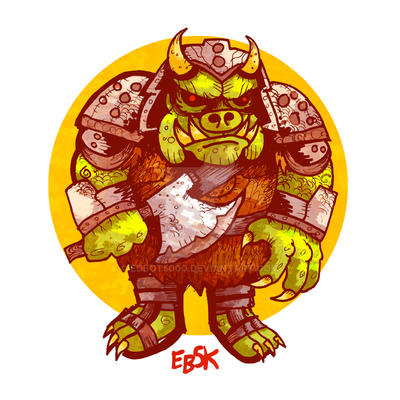 Gamorrean Guard by edbot5000