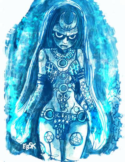 Enchantress by edbot5000