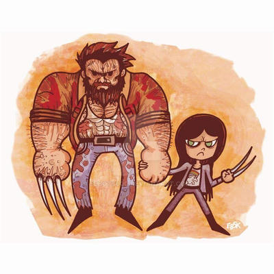Logan and Laura... by edbot5000