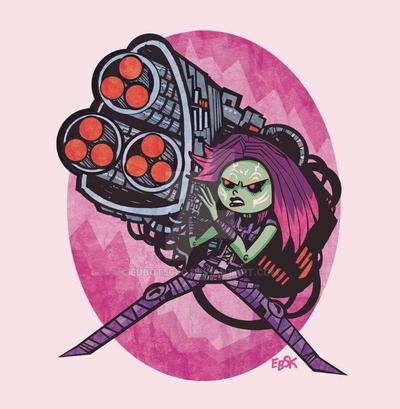 Gamora! by edbot5000