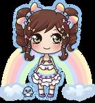 Rainbow Marshmallow