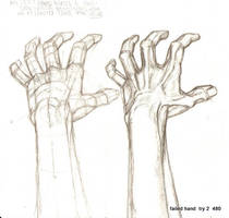 reaching away hand. by tarpalsfan