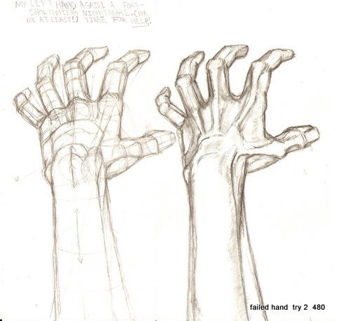 how to draw a person with their hands up