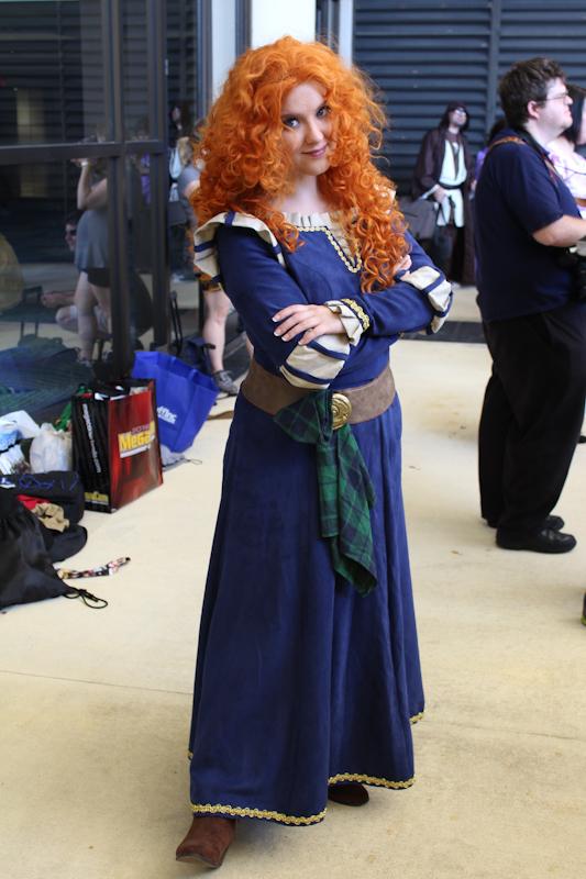 Merida of Clan DunBroch by Neko-Kaolla