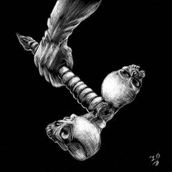 Siamese Ball-peen by JohnnyVega13