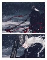 Bloody Crow by valeryvy