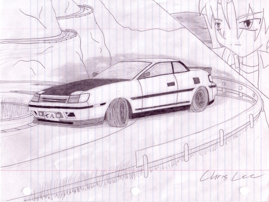 More Car Sketch In Drift Mode By Christopherlee On Deviantart