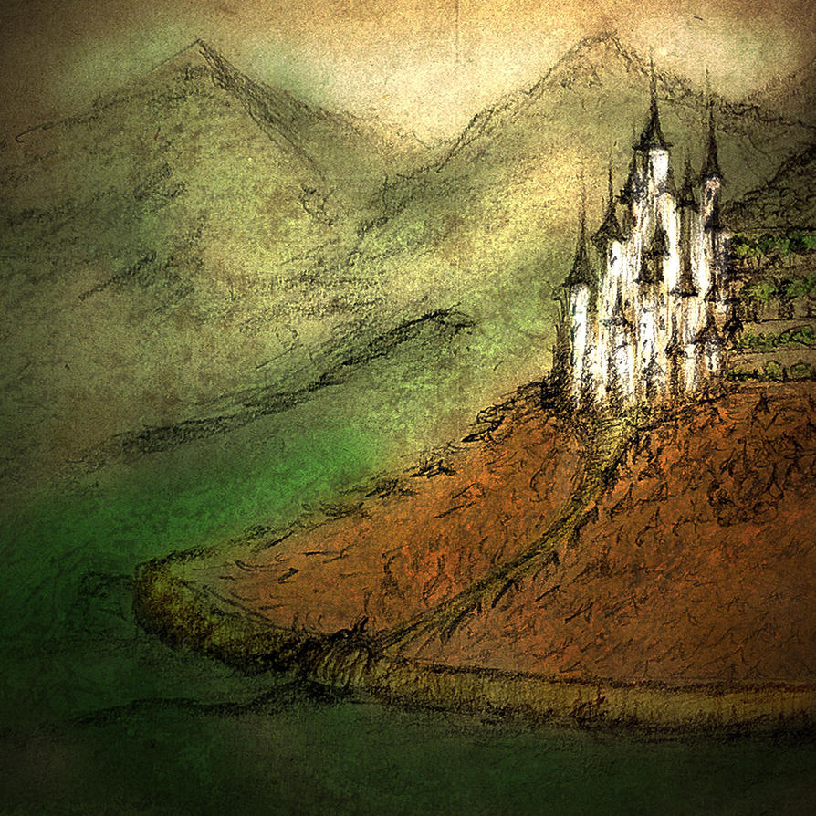 Displaying 20> Images For - Fairytale Castle Drawing...