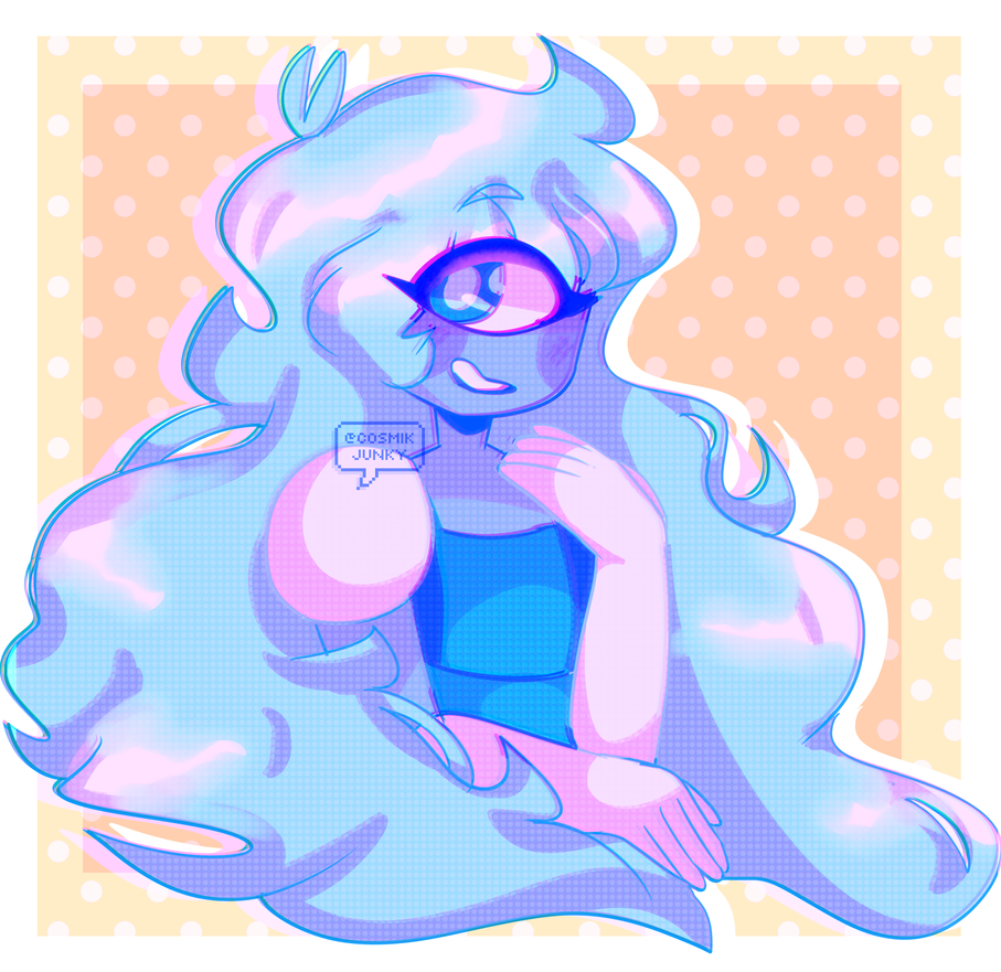 hi did i mention i'm in the su fandomand i love sapphire