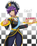 Captain of Cakes by Tayeko