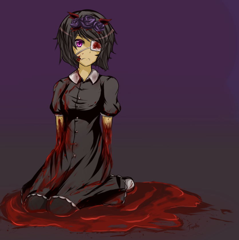 Bloody Petals by Tayeko