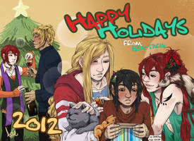 Happy Holidays 2012 by arai-chuusei