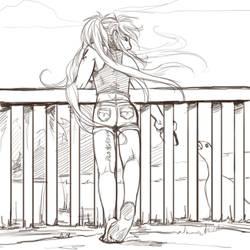 Bare Feet by arai-chuusei