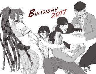 Birthday 2017 by arai-chuusei