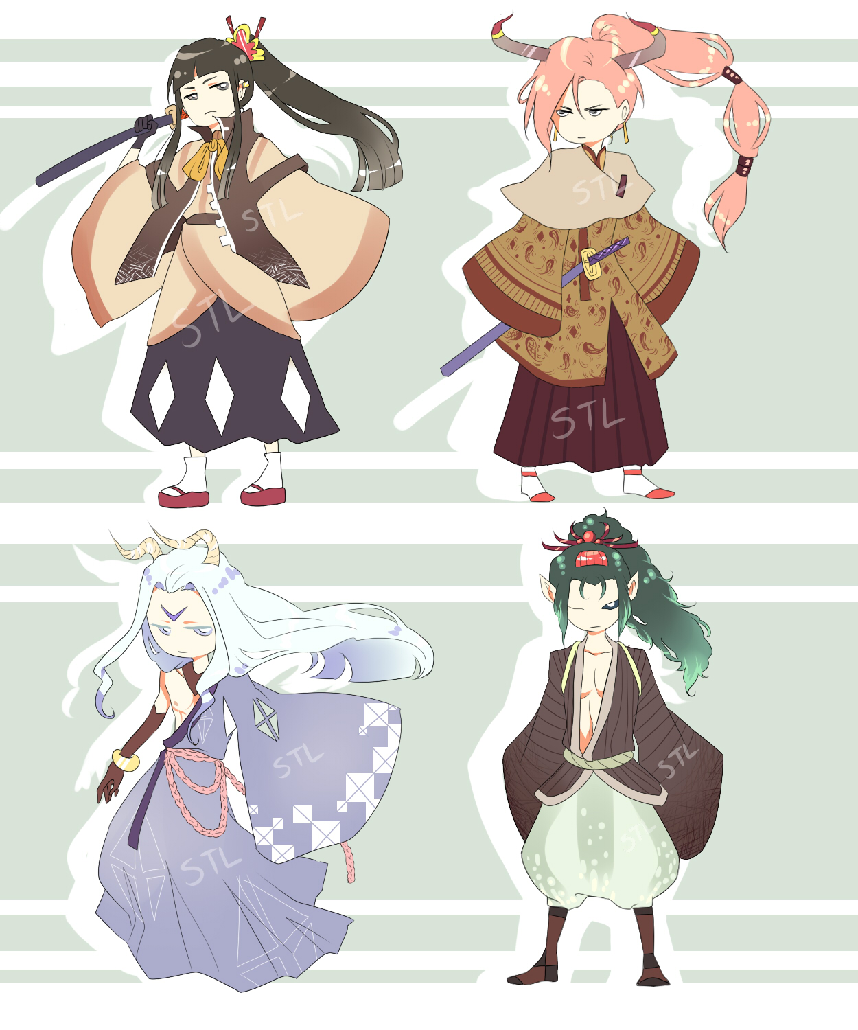 MALE adopt Set [CLOSED} by Koujashi