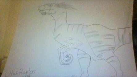 Utahraptor by waterfreak121