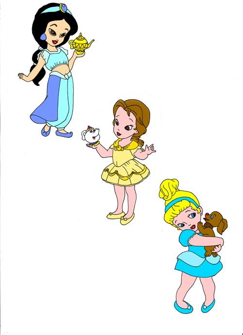 Princesas babys de Disney - Imagui