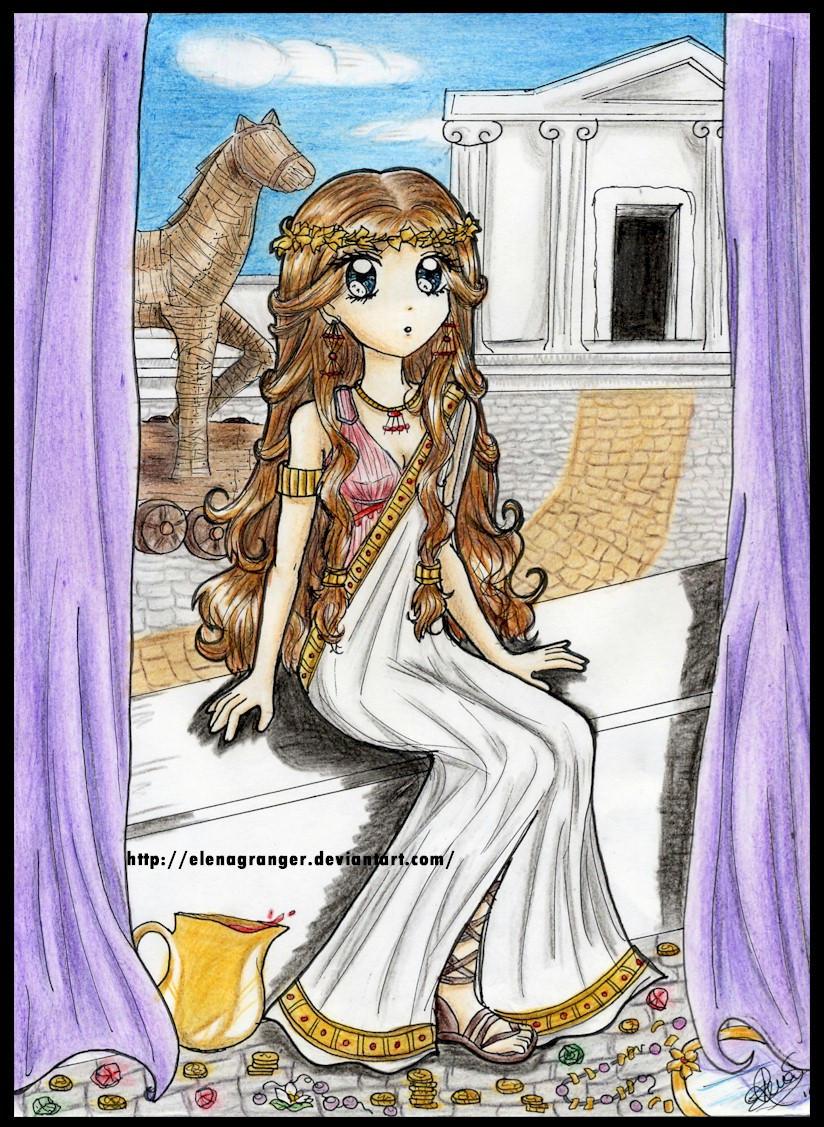 historia de elena de troya: