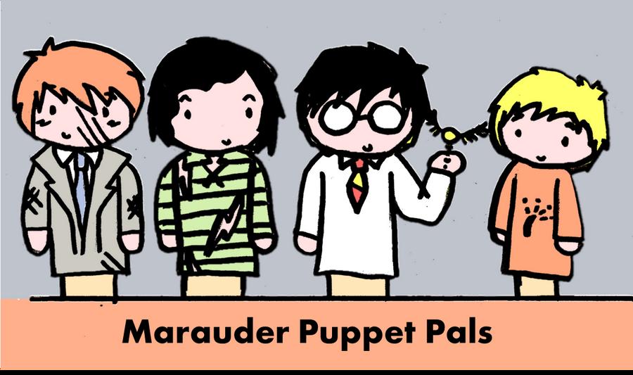 Marauder Puppet Pals by GoldenPhoenix75