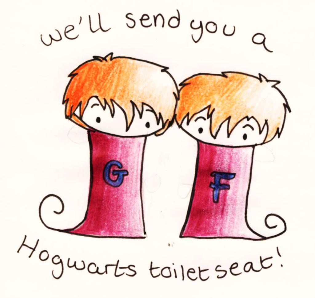 Fred and George by GoldenPhoenix75