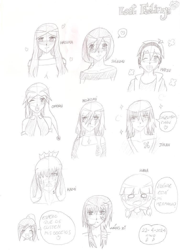Lost feelings -sketch 1- by Shizumu-chan