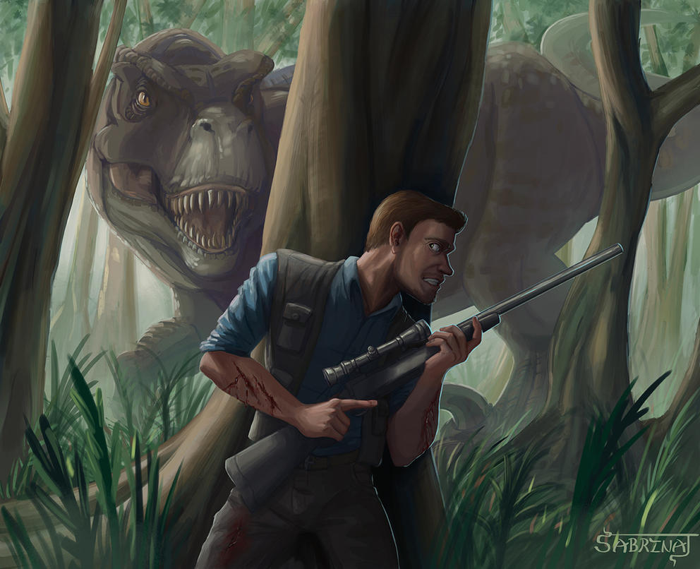Jurassic World by Aerowan