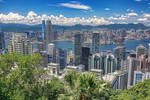 An nice view of Hong Kong