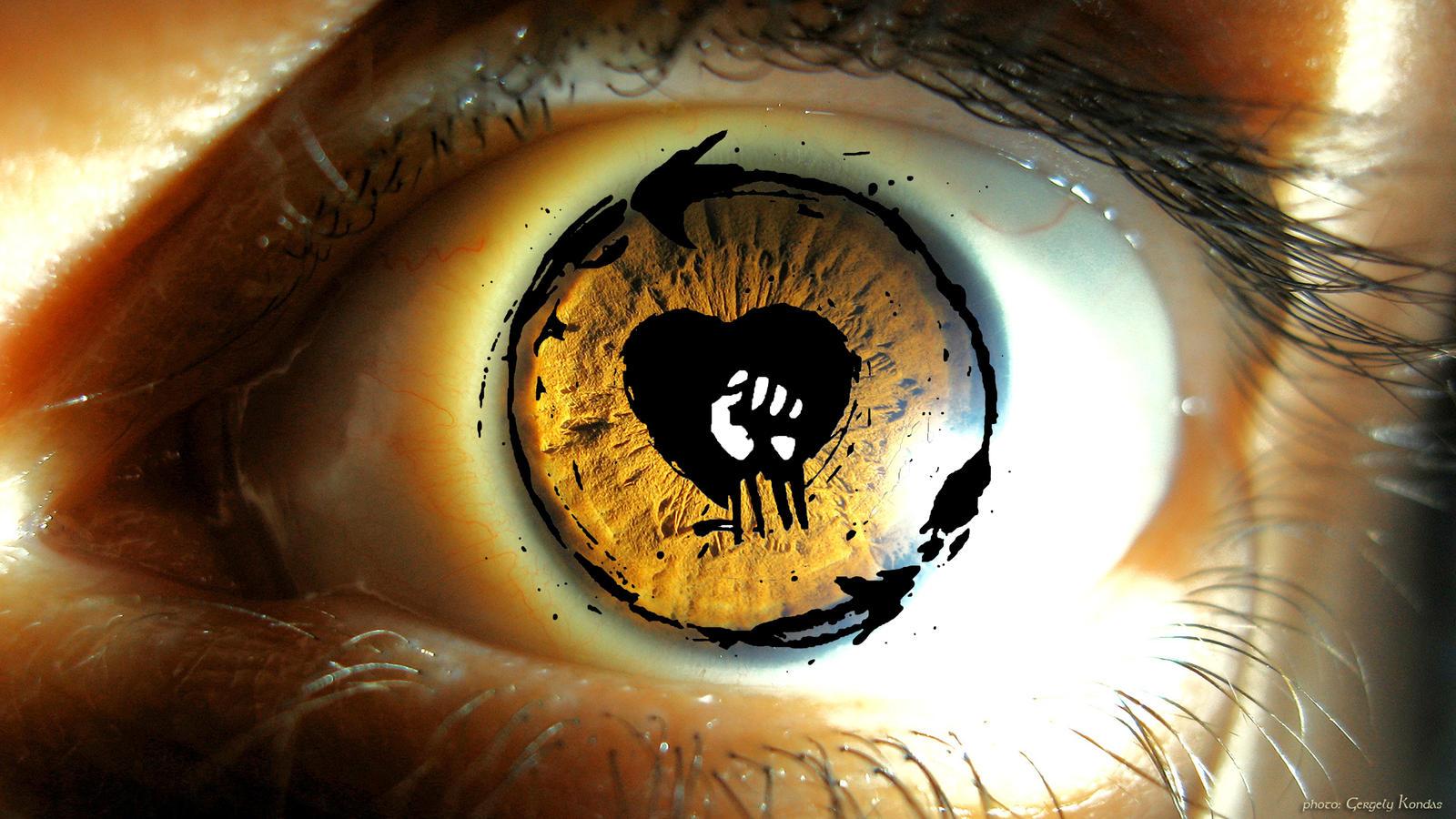 Rise Against Eye Logo By Edertxu